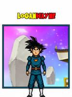 Goku Daishinkan Disciple - Dragon Ball Heroes by LoganWaynee