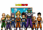 Z Fighters - Cell Saga - Dragon Ball Z by LoganWaynee