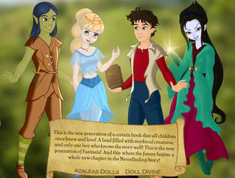 The NeverEnding Story: A New Generation by Amelia411