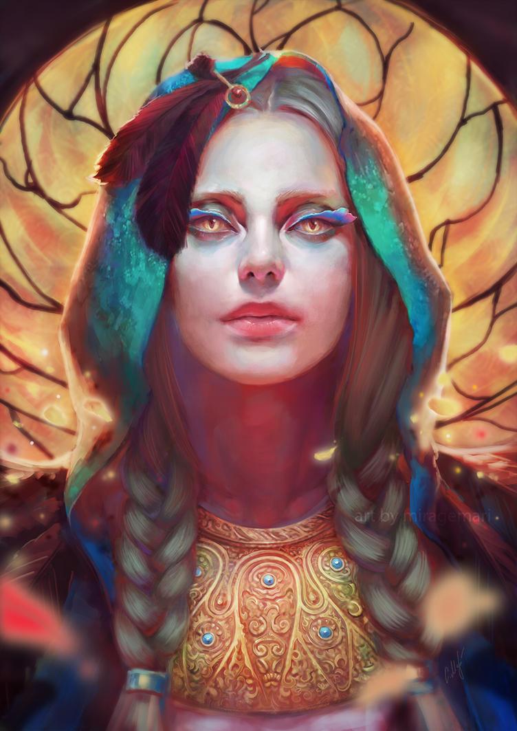 Black Angel Jezebel by MirageMari