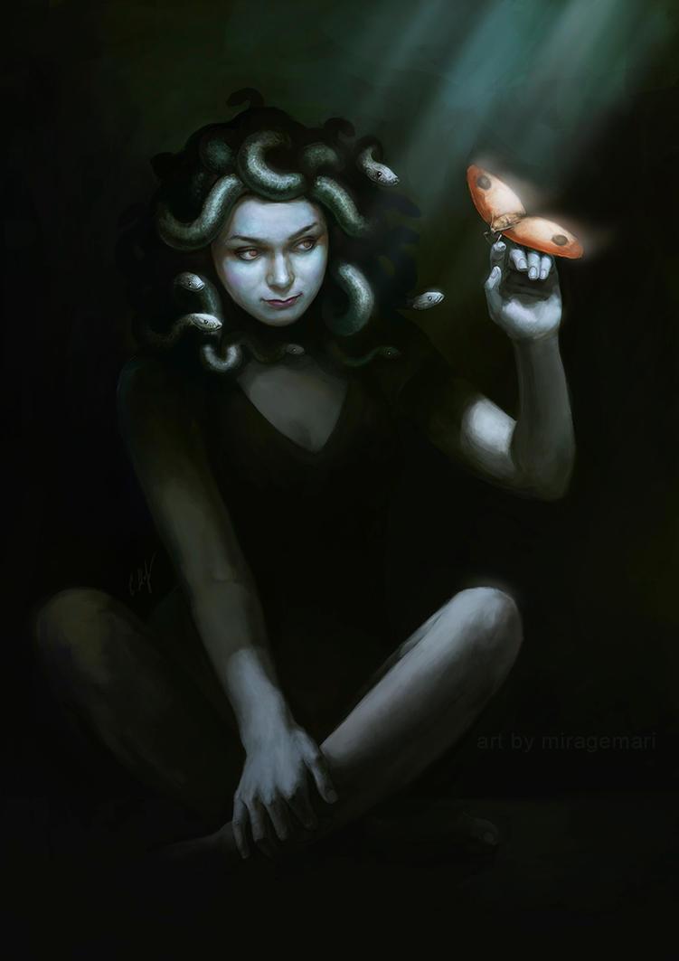 Medusa Anya by MirageMari