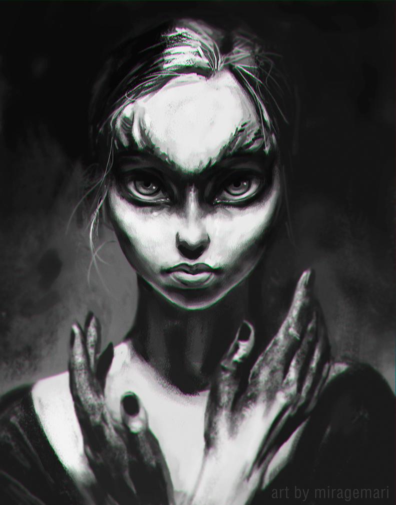 Dark Girl by MirageMari
