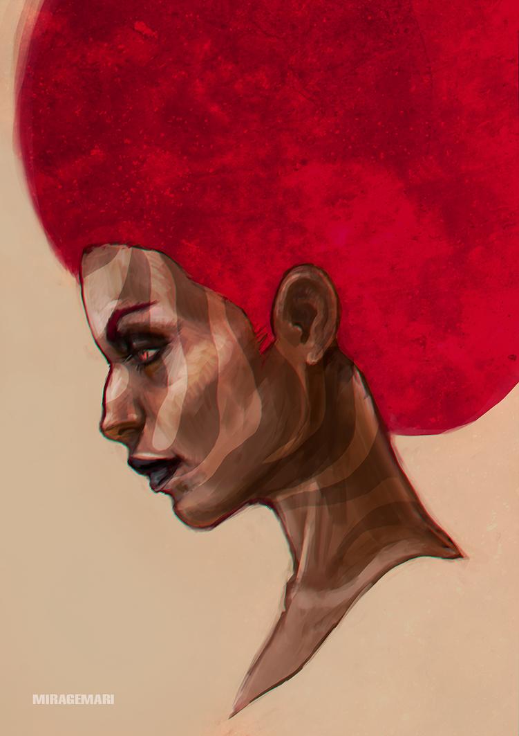 Red by MirageMari