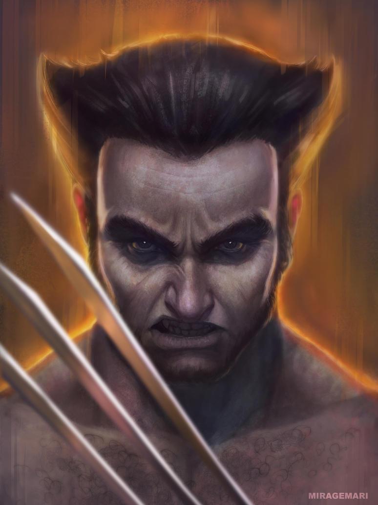Wolverine by MirageMari