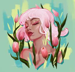 Tulips by MirageMari