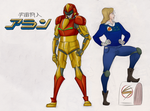 What if Metroid was a tokusatsu? 1/4