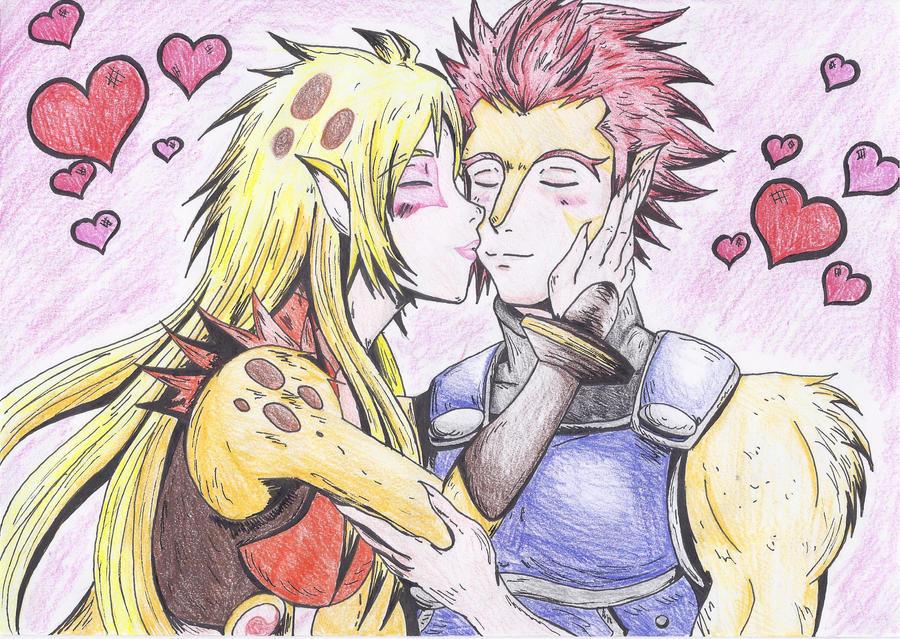 Thundercats Lion O And Cheetara Kiss