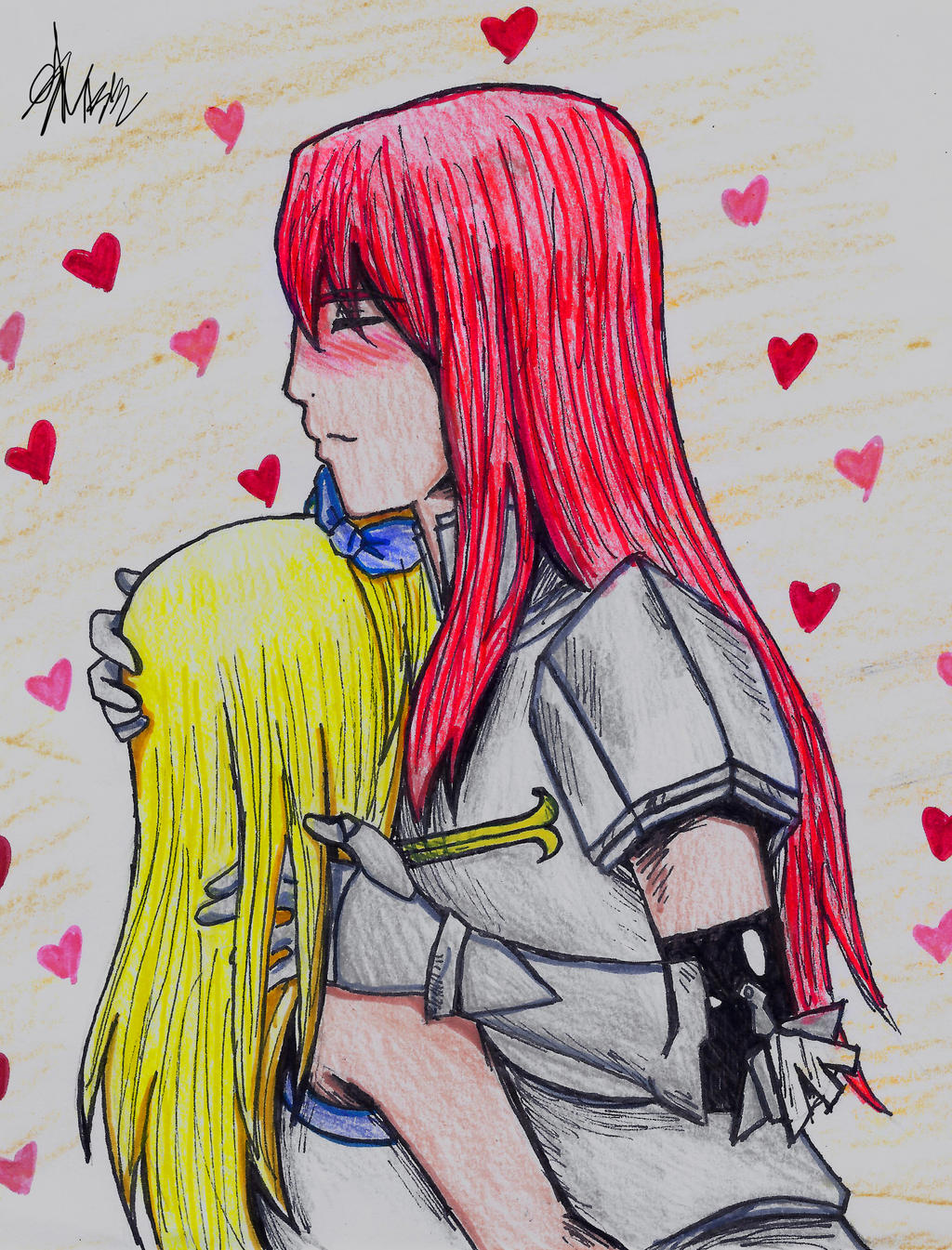 Fairy Tail Erza X Lucy | www.pixshark.com - Images ...