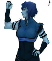 If Korra was gem?