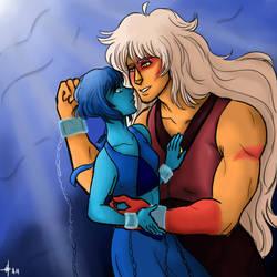 Jasper and Lapis: Under the Sea