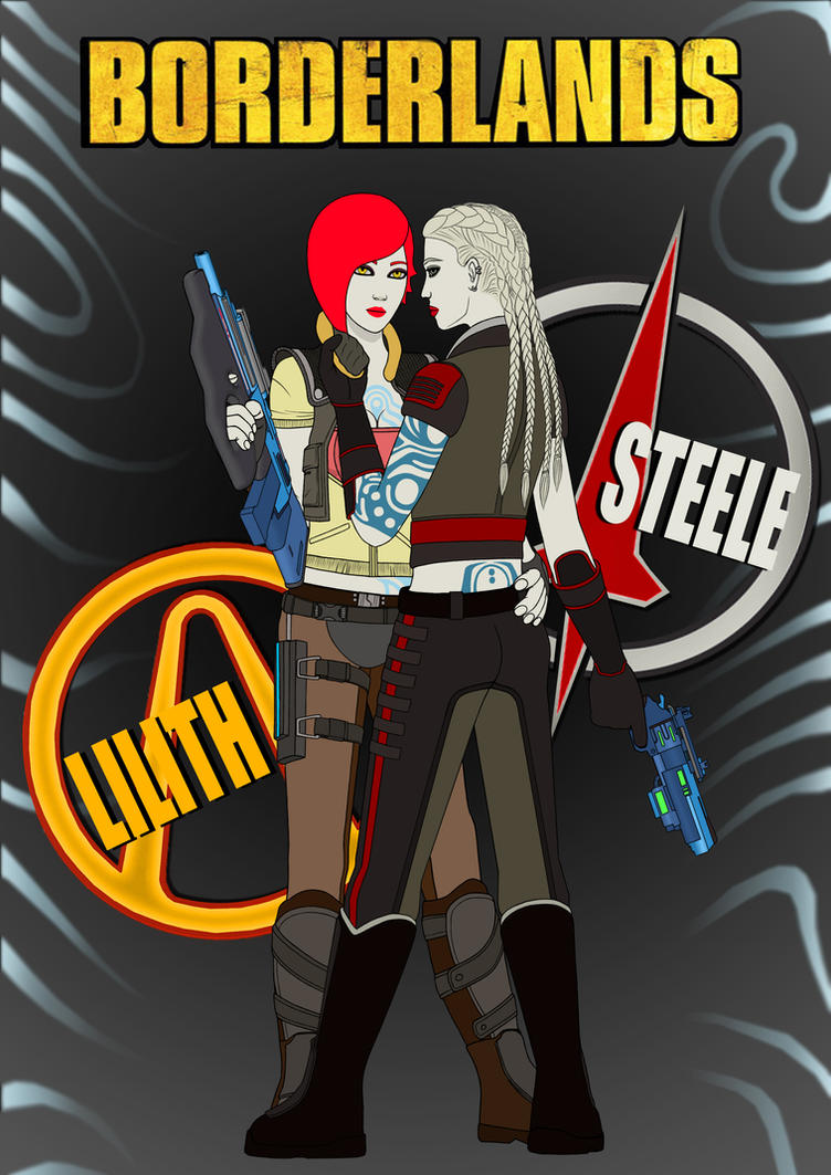 Borderlands - Lilith and Steele preview by Stallnig