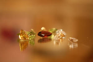 Loose gemstones by LisaMacNewton