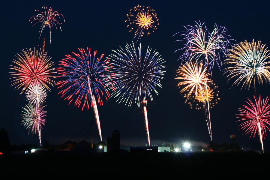 Fireworks...lol by LisaMacNewton