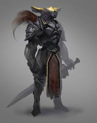 Swordsman from overseas