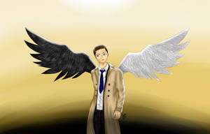 Castiel, Angel of the Lord by Anspire