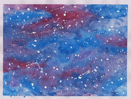 Watercolour Galaxy (Art challenge) by Anspire
