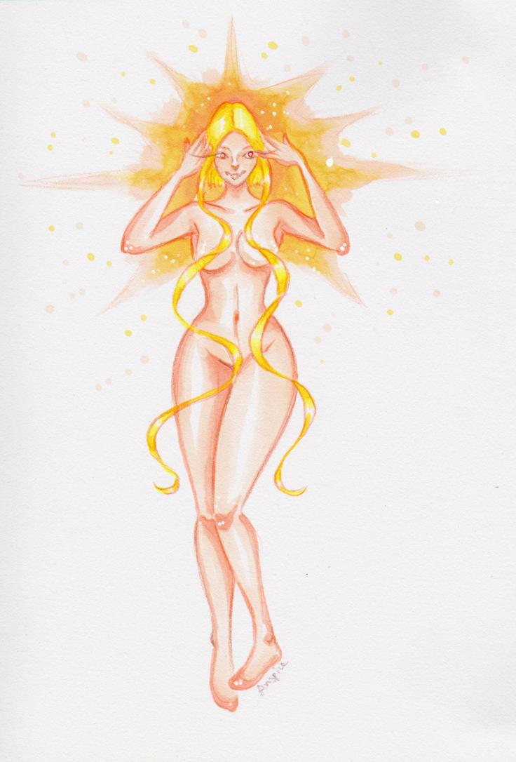 Light Energy Elemental by Anspire