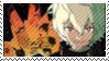Yuma Kuga Stamp [Commission] by Bakahog