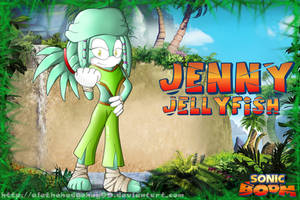 [Contest Entry] Jenny Jellyfish - Sonic Boom Style by Bakahorus