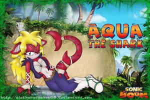 [Contest Entry] Aqua The Shark - Sonic Boom Style by Bakahorus
