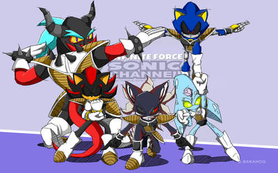 Infinite Force - Sonic Channel Style by Bakahorus
