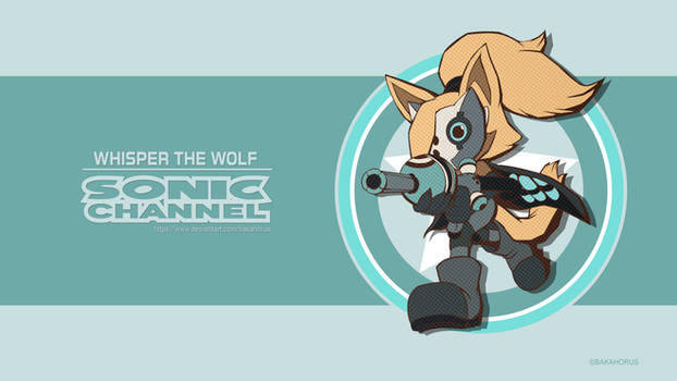 Whisper The Wolf - Sonic Channel 2018 Style