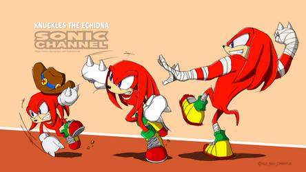 Knuckles On Sonic Boom Hub Deviantart