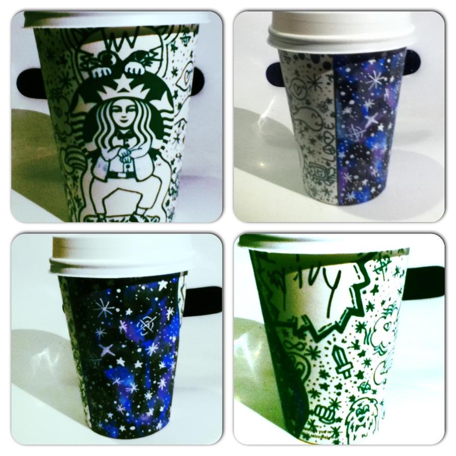 Starbucks Cup Drawing 3 By IvytJ