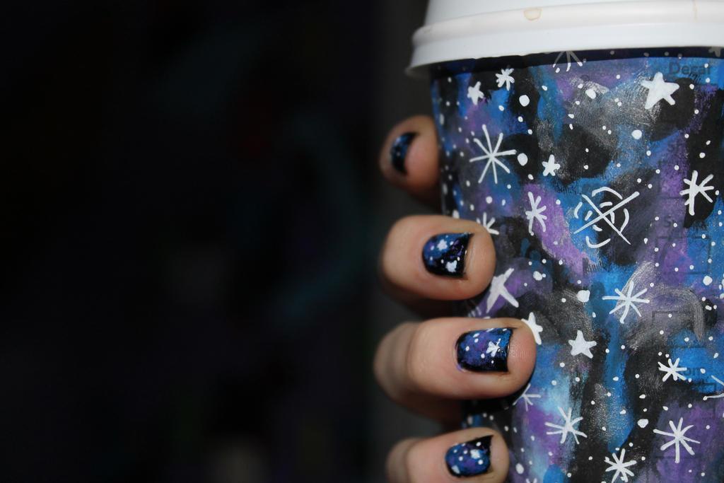 starbucks galaxy wallpaper - photo #27