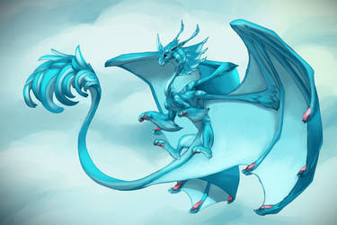 Air Dragon by cweinmanart
