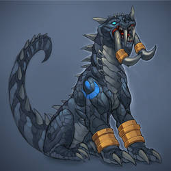 Zandalari Cat, or Feral, Form by cweinmanart