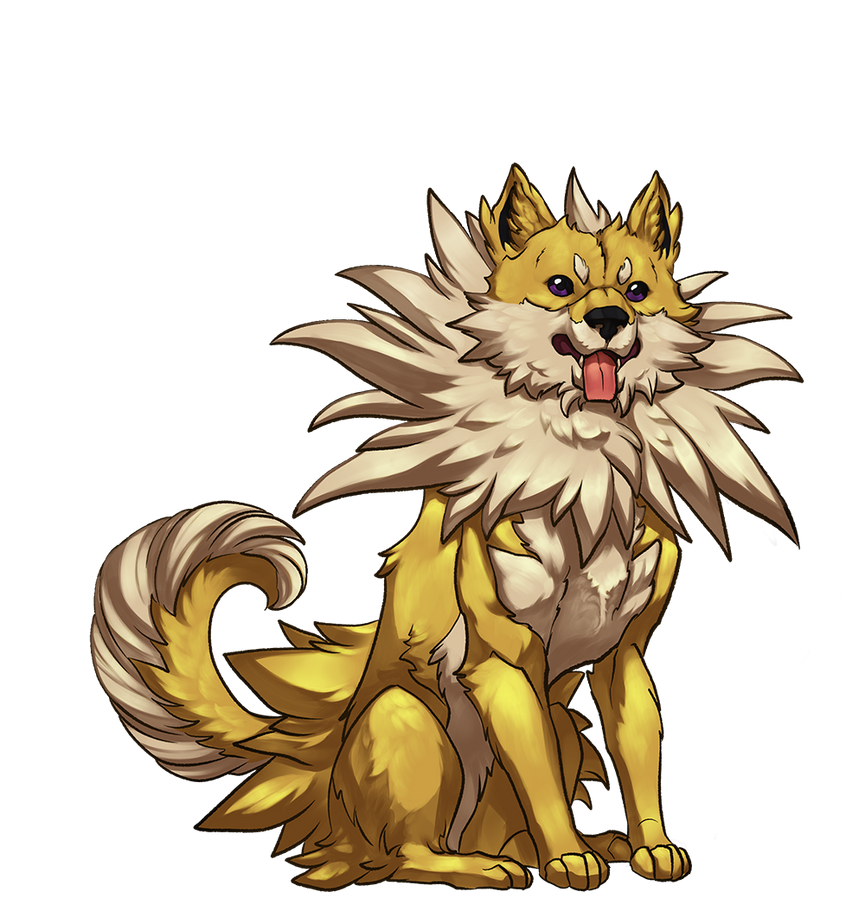 Jolteon Shibe by cweinmanart