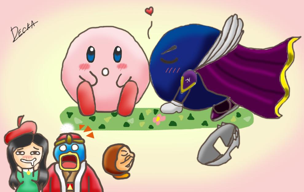 Kirby x Meta Knight (Meta Caballero) by kingdededefan on ...