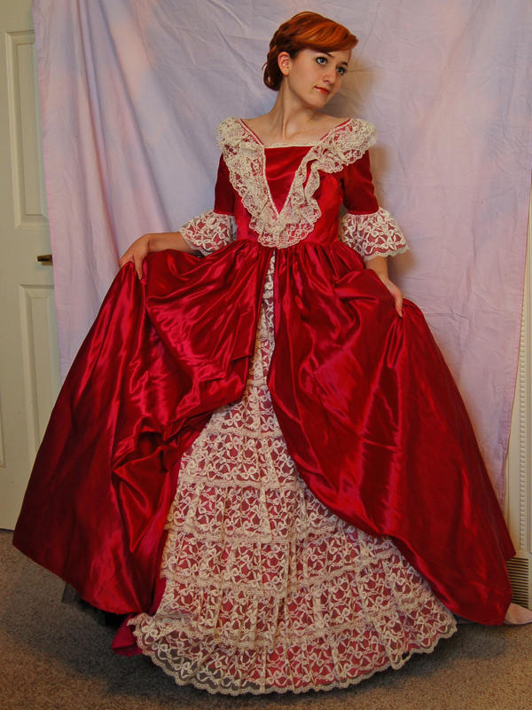 Elegant Gown 4 by Valentine-FOV-Stock