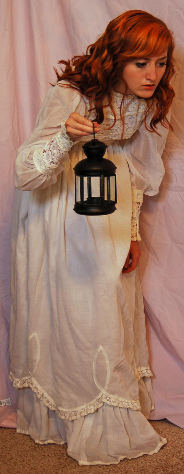 Nightgown with Lantern 4 by Valentine-FOV-Stock