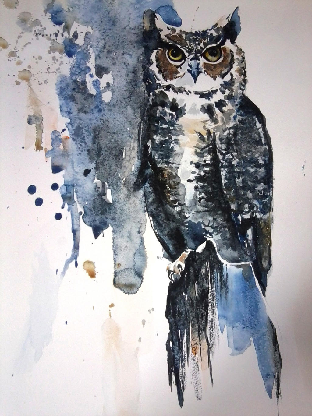 OWL ^^ by TanyaPaperniuk