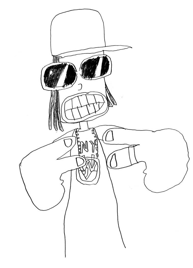 Yo man! by philipanimation