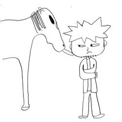 Horse lick by philipanimation