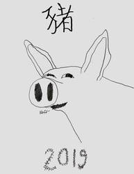 Pig 2019 by philipanimation
