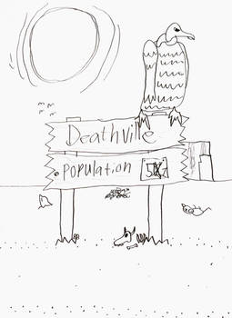 Sign to Deathville