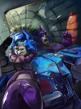 SG Galvatron cover colors by Kyao