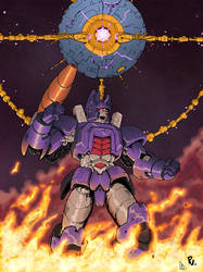 Galvatron and the Planet Eater