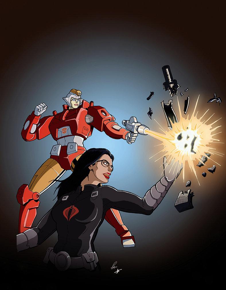 Baroness vs Firestar by PiusInk