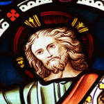 Stained Glass Window - Christ