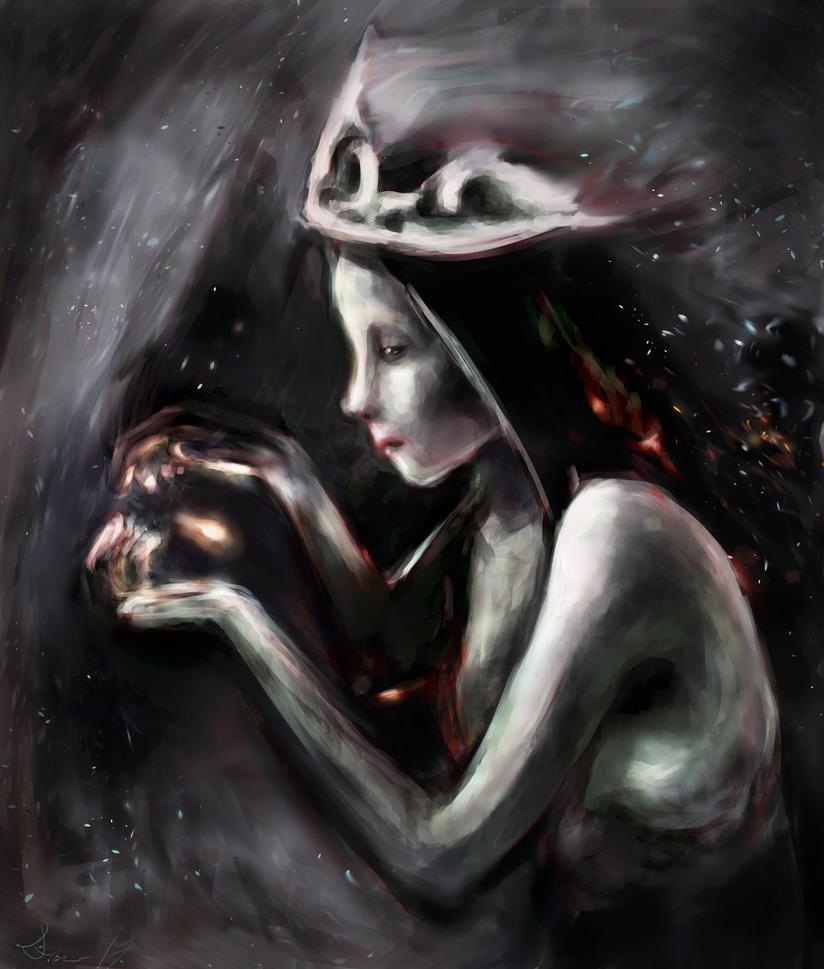 snow witch by iriasmind