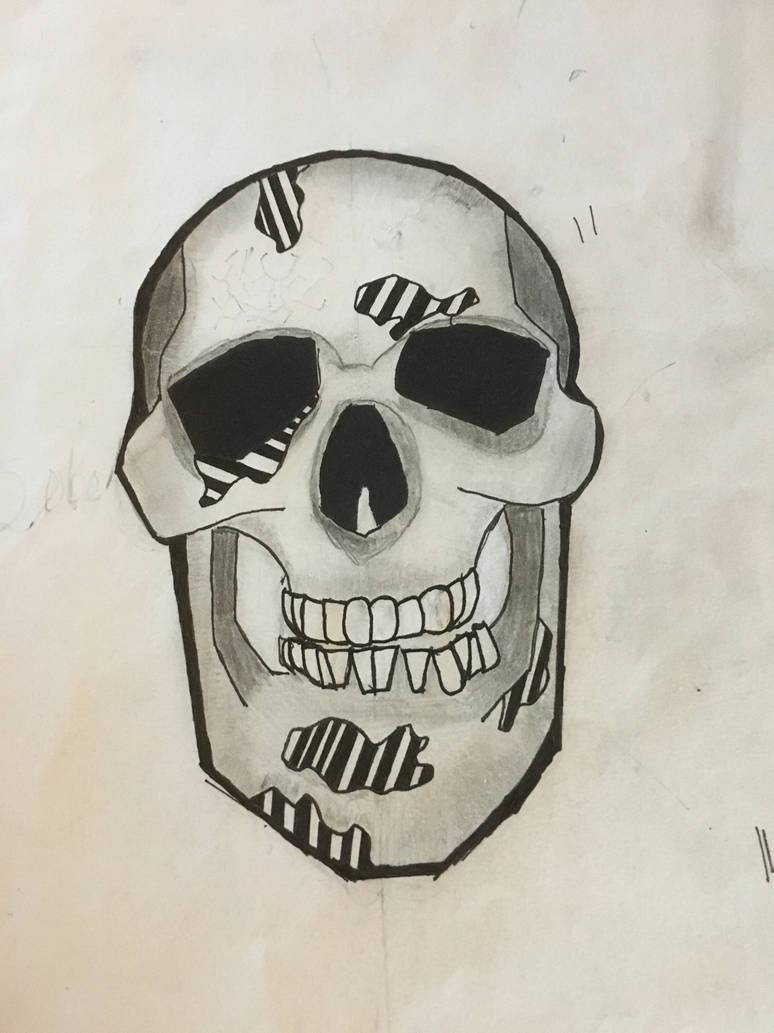 Skull  by letsjustdraw
