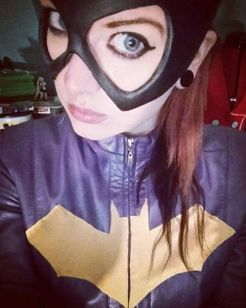 WIP Batgirl by KiMMERWiMMER