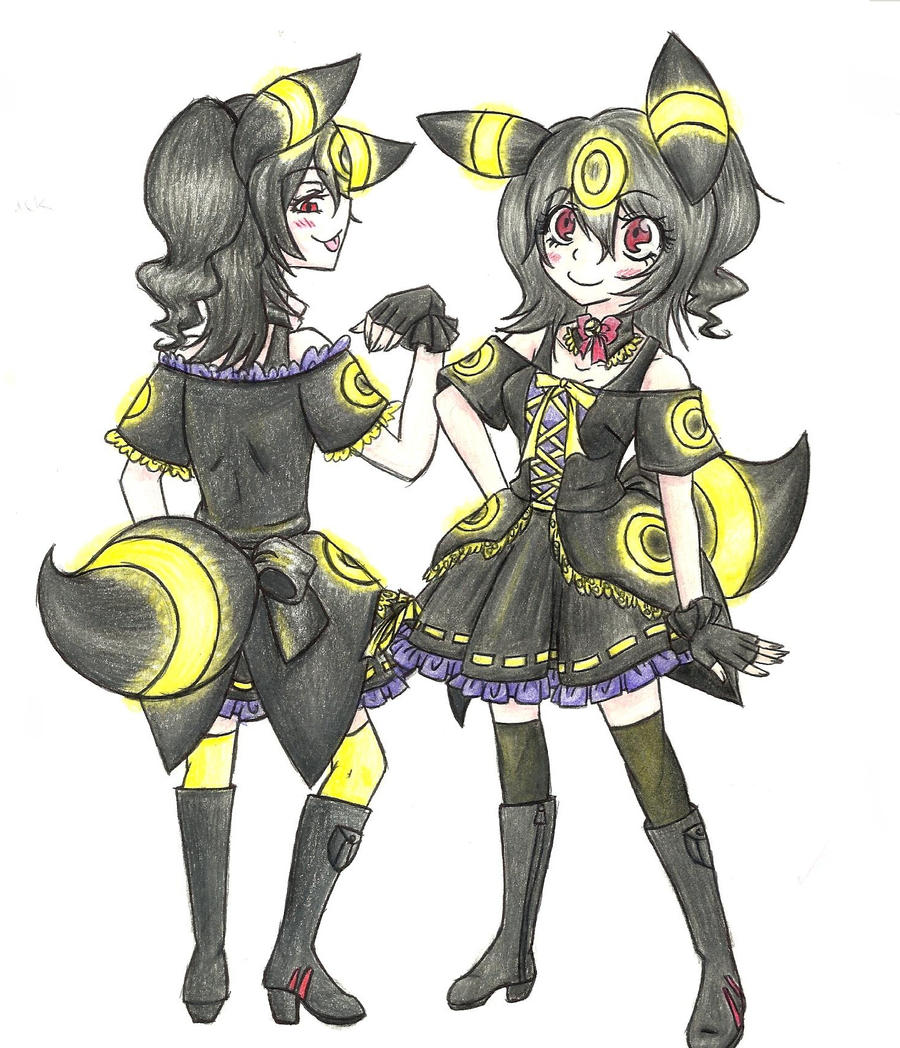 Gothic Lolita Umbreon by Xotri