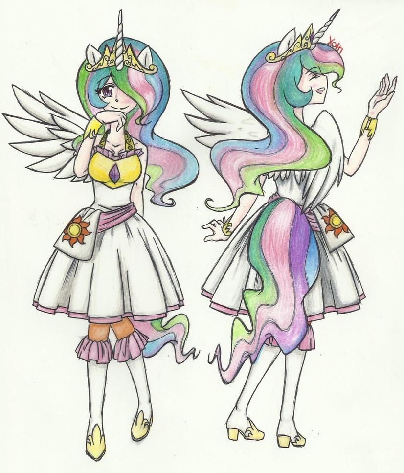 Princess Celestia by Xotri