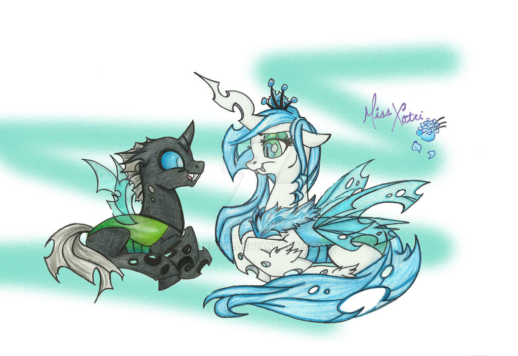 Mother Changeling by Xotri